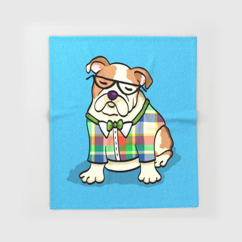 English Bulldog Blanket