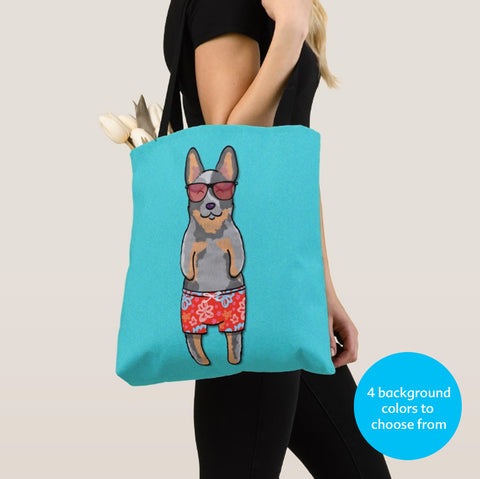 Australian Cattle Dog - Blue Heeler Fluff in the Sun Tote Bag