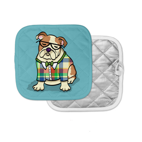 English Bulldog Pot Holder