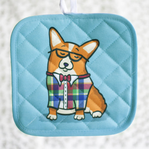 CorGeek Corgi Pot Holder