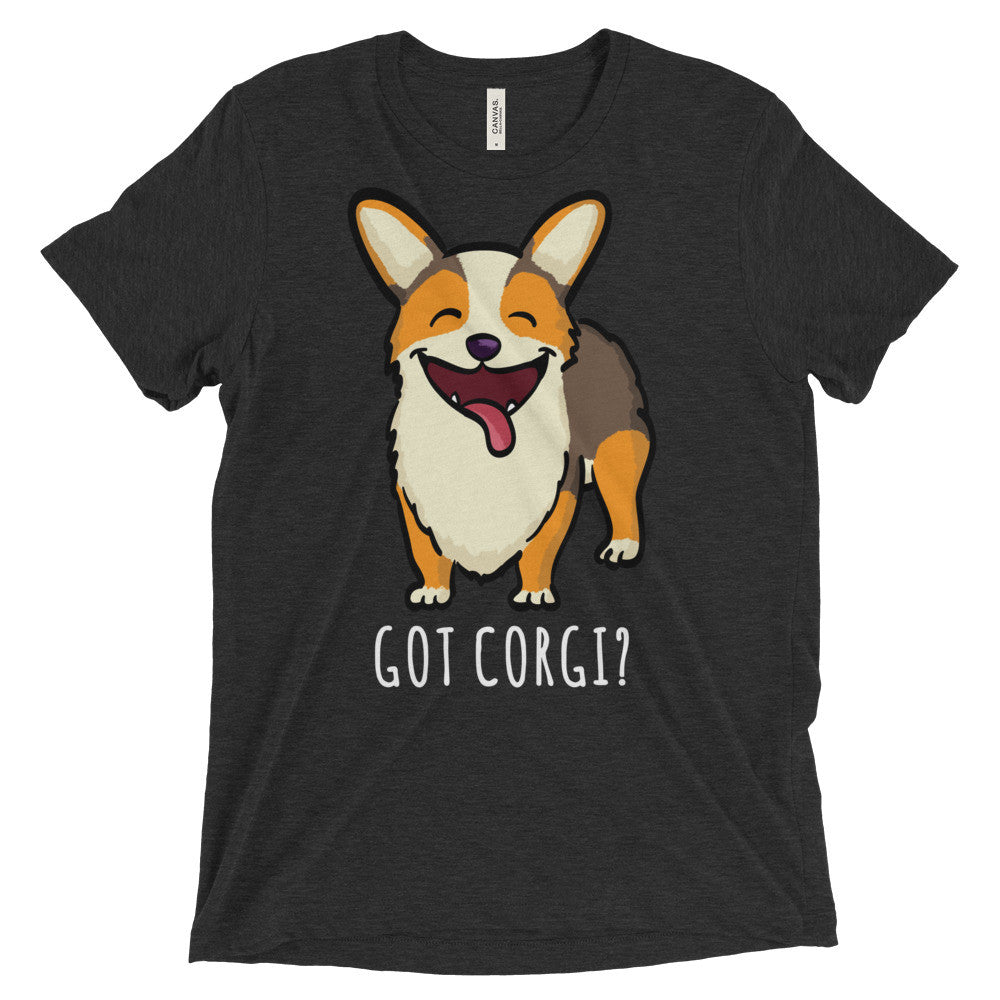 Got Corgi? - Red Headed Tri Pembroke - Unisex Corgi Shirt