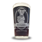 Jack Russell Pint Glass