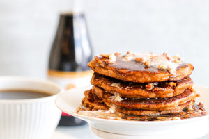 Maple Pecan Pumpkin Pancakes