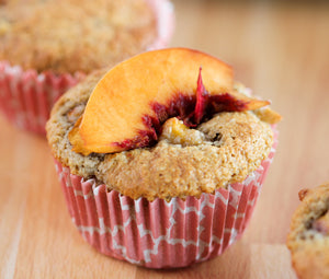 Good Dee's Simply Peachy Muffins - Kid Approved