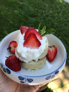 Chef Taffiny's Strawberry Shortcake for One