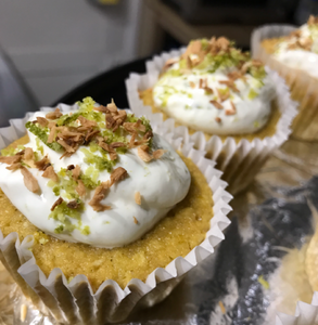 Good Dee's Coconut Lime Cupcakes