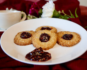 Good Dee's Easy Thumbprint Cookies
