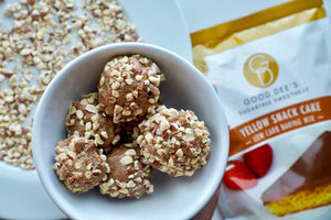 Good Dee's Yellow Snack Cake Protein Balls