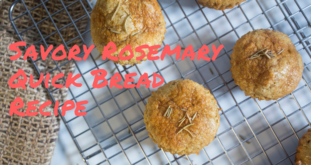 Recipe for savory quick bread recipe