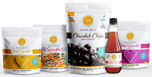 Good Dee's Fun Extras Bundle - Sparkle, Sprinkles, Syrup and Chips
