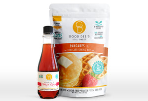 Good Dee's Pancake & Syrup Bundle - Allulose Sweetened Pair!