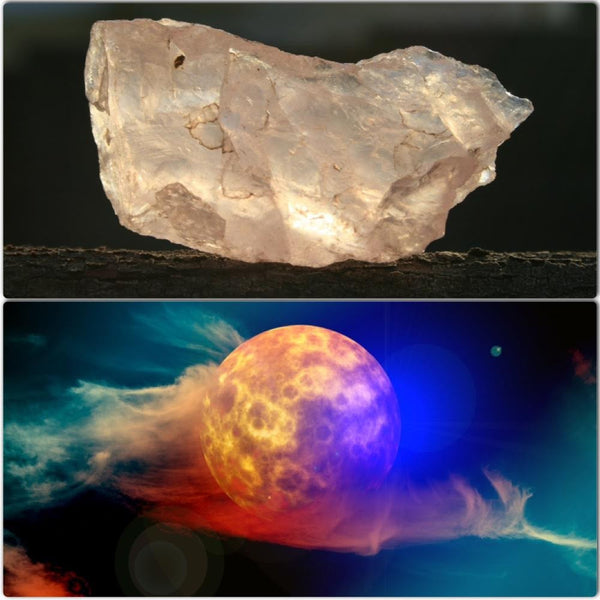Cleanse Your Crystals During Tonight's Supermoon Lunar Eclipse
