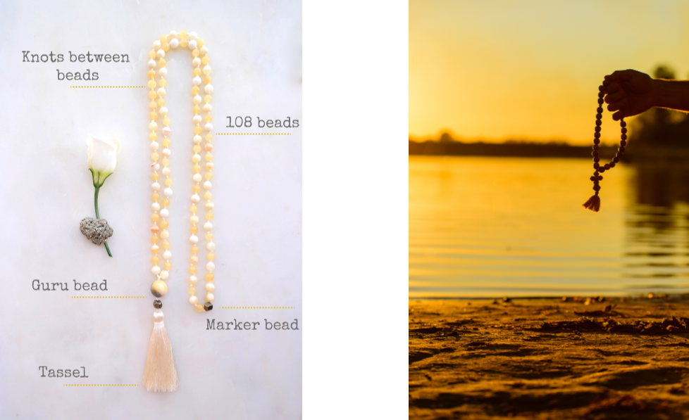 Mala Composition - Parts of a Mala Necklace