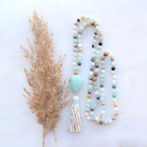 Rose Quartz Mala - Love Mala