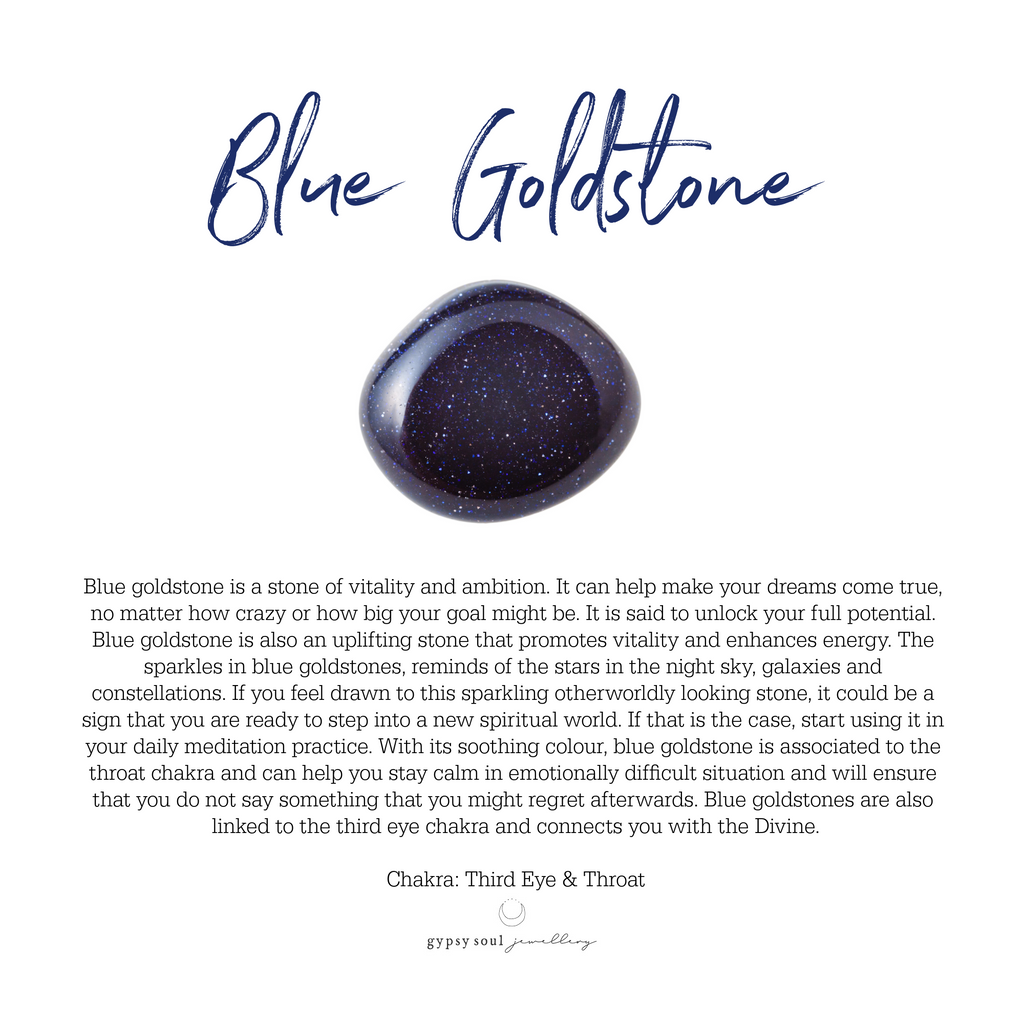 Blue Goldstone Meaning