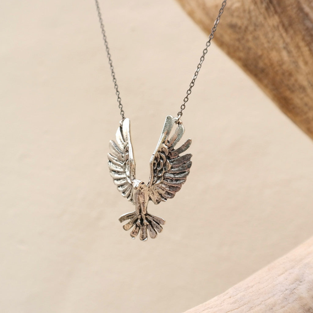 Free Spirit Eagle Necklace - Gypsy Soul Jewellery  - 2