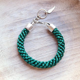 Braided Satin Cord Bracelet - Gypsy Soul Jewellery  - 6