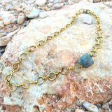 Labradorite Choker Necklace - Gypsy Soul Jewellery  - 2