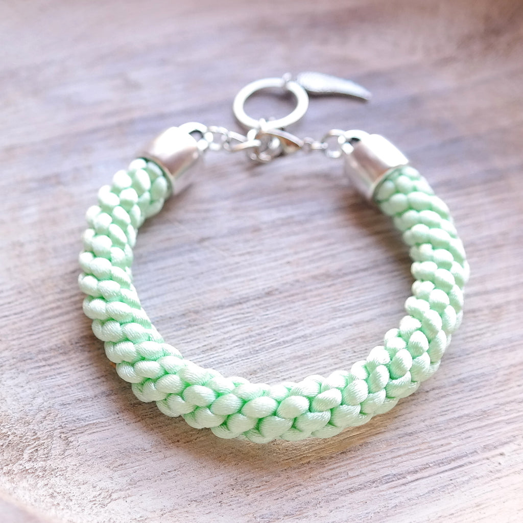 Braided Satin Cord Bracelet - Gypsy Soul Jewellery  - 7