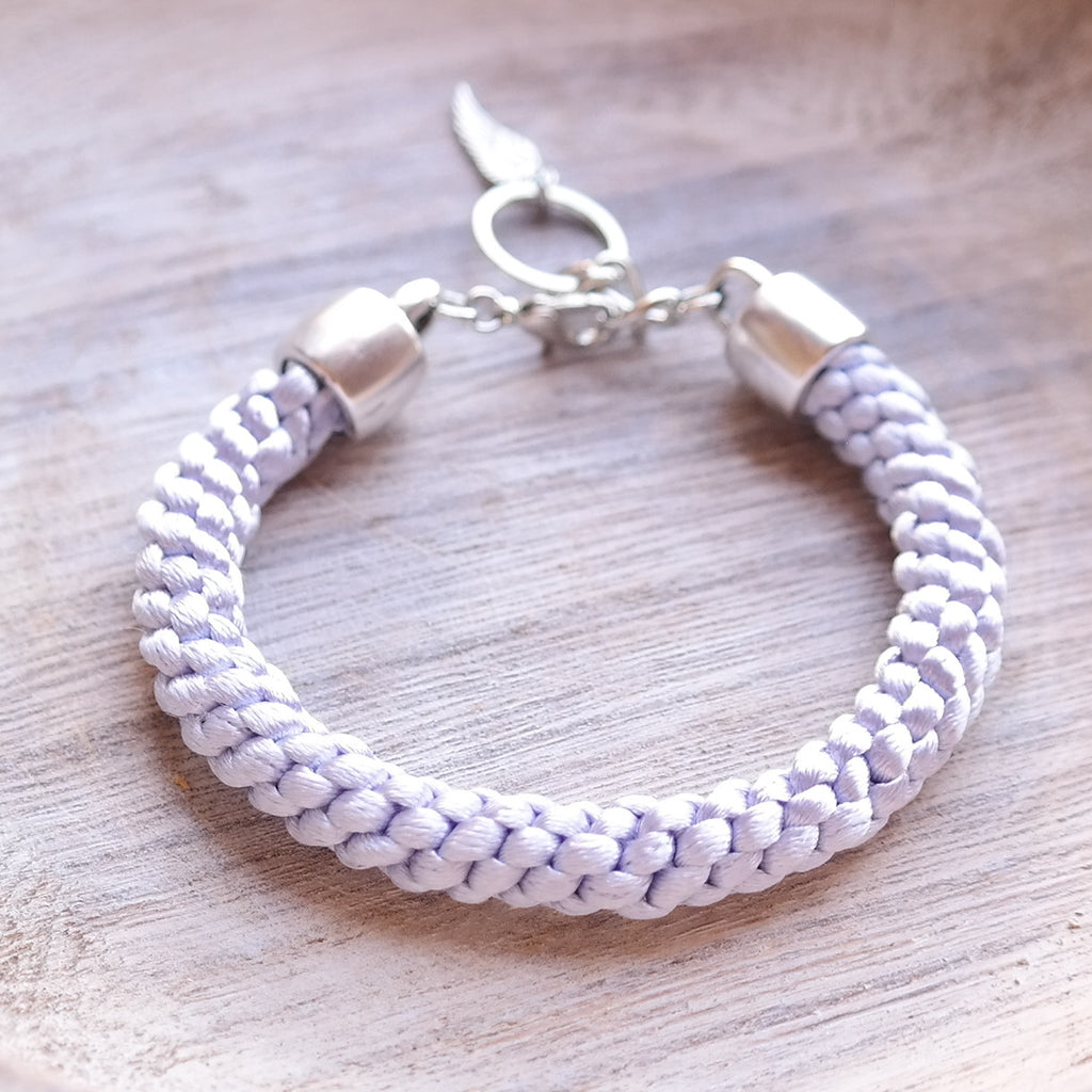 Braided Satin Cord Bracelet - Gypsy Soul Jewellery  - 9