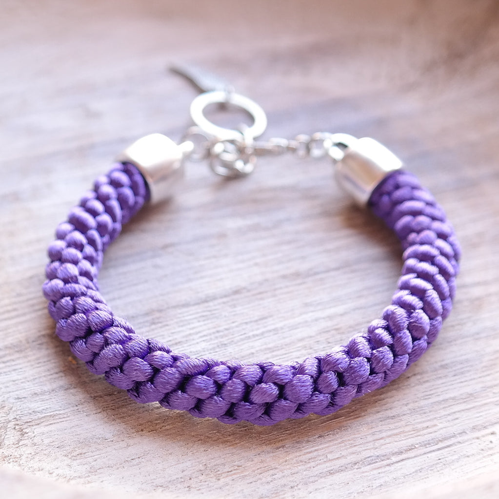 Braided Satin Cord Bracelet - Gypsy Soul Jewellery  - 8