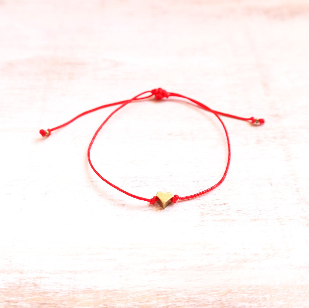 Red Heart Bracelet - Gypsy Soul Jewellery  - 2