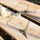 Spike Turquoise Necklace - Gypsy Soul Jewellery  - 3