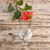 Free Spirit Eagle Necklace - Gypsy Soul Jewellery  - 1