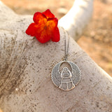 Silver Scarab Necklace - Gypsy Soul Jewellery  - 2