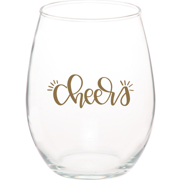 Hand Lettered Wine Glass By KATEYDIDS