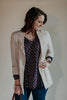 Natural Linen Blazer Jacket
