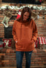 Pumpkin Pie Hoodie With Cell Phone Pocket