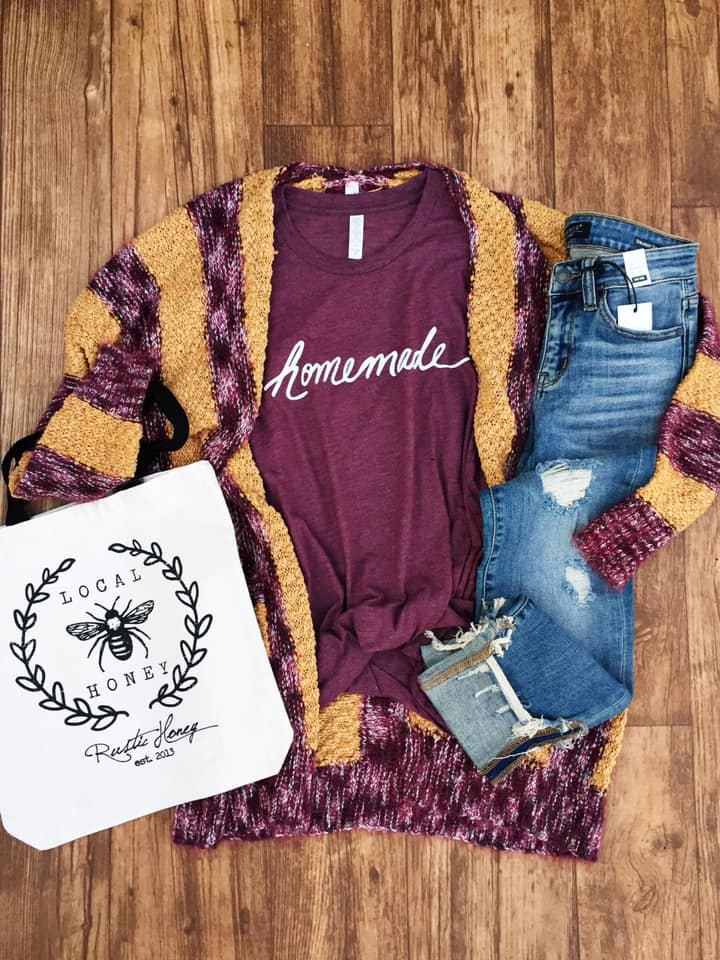 Homemade Tee by Rustic Honey