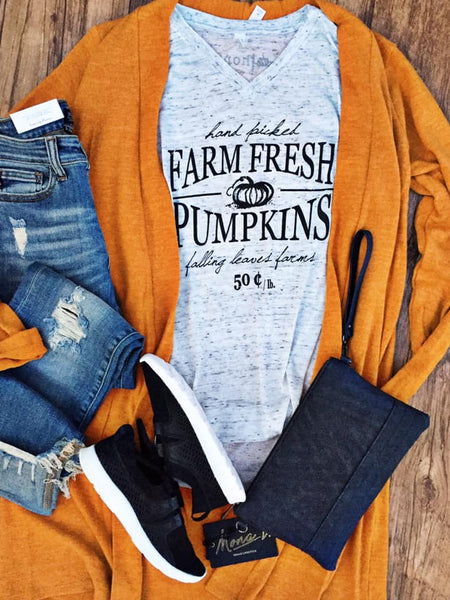 Farm Fresh Pumpkins Tee by Rustic Honey