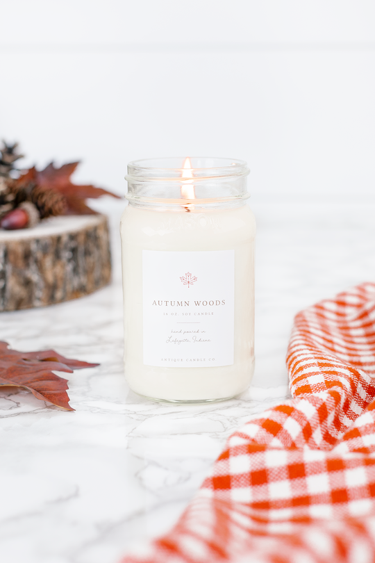 Autumn Woods - Antique Candle Co. Candle