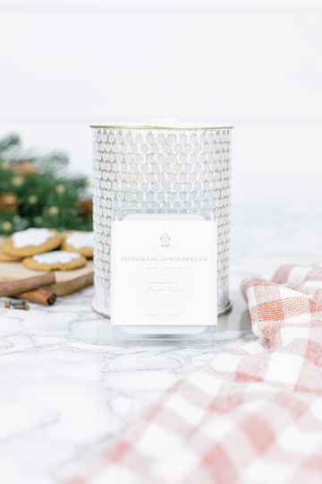 Homemade Gingerbread Candle Wax Melts by Antique Candle Co.
