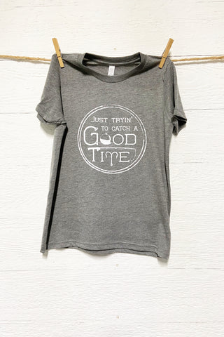 KIDS Catch A Good Time Graphic Tee