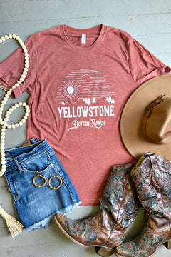 Yellowstone Dutton Ranch Tee by Rustic Honey