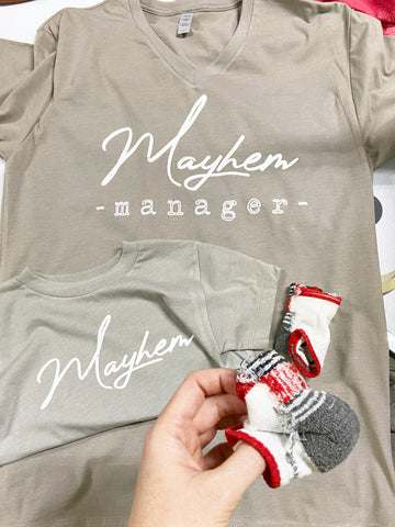 KIDS Mayhem Graphic Tee by Rustic Honey