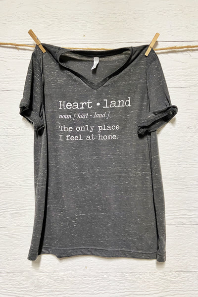 Heartland Definition Tee - More Colors!