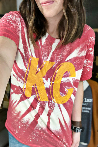 KC Vintage-Inspired Tie Dye Tee - Limited Edition Preorder