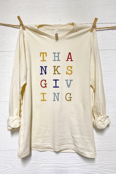 THANKSGIVING Tee by Rustic Honey
