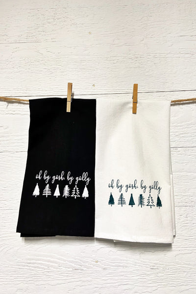 Oh By Gosh, By Golly Tea Towels
