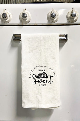 Home Sweet Home For The Holidays Tea Towel