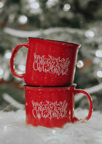 Hand Lettered Mug By KATEYDIDS