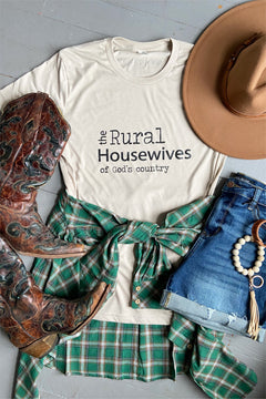 The Rural Housewives of God's Country Tee by Rustic Honey