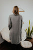 Dark Heather Gray Cowl Neck Tunic