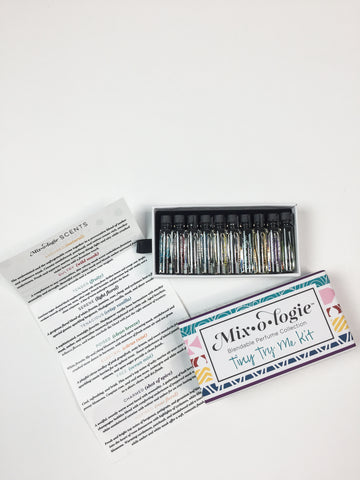Mixologie Try- Me Kit of Blendable Perfume