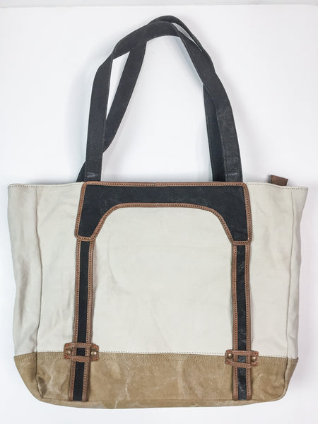 Mona B Avery Work Tote With Laptop Case