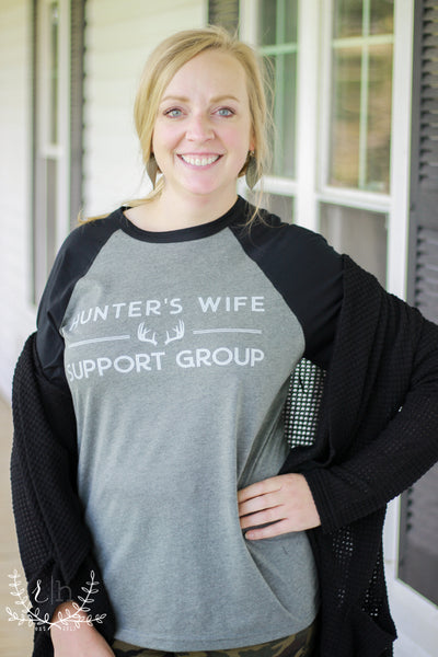 Hunter's Wife Support Group Tee By Rustic Honey